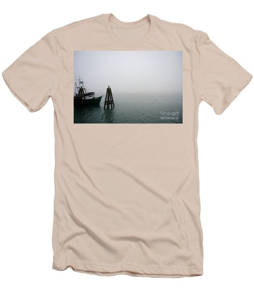 Moored Men's T-Shirt (Slim Fit) by CML Brown