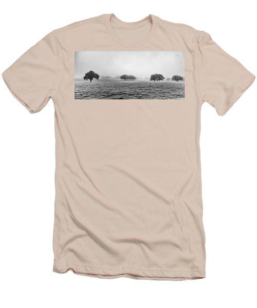 Morning Fog Men's T-Shirt (Slim Fit) by Howard Salmon