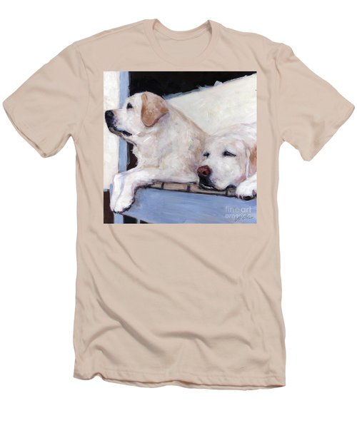 Morning Glory Men's T-Shirt (Slim Fit) by Molly Poole