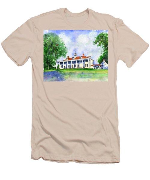 Mount Vernon Front Men's T-Shirt (Athletic Fit)