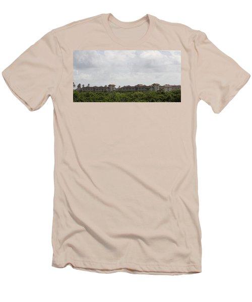 Mountain Villa Men's T-Shirt (Athletic Fit)