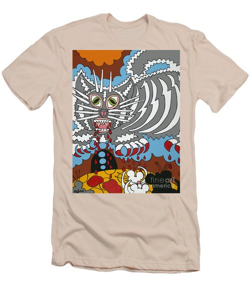 Mouse Dream Men's T-Shirt (Slim Fit) by Rojax Art