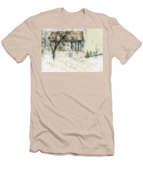 Caledon Barn Men's T-Shirt (Athletic Fit)