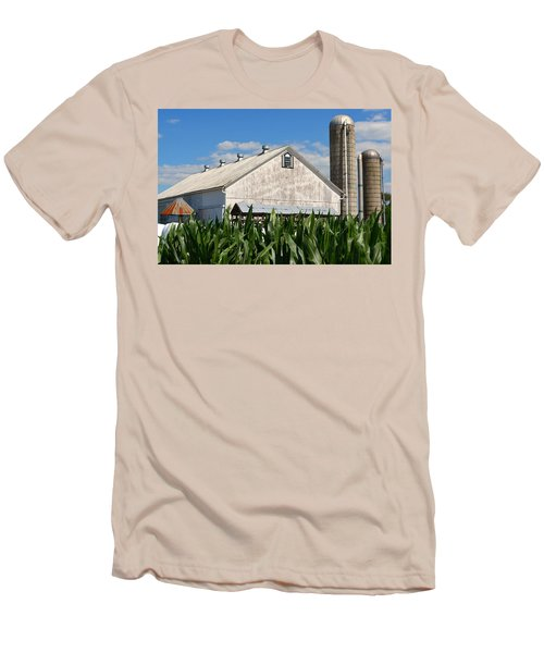 My Favorite Barn In Summer Men's T-Shirt (Athletic Fit)