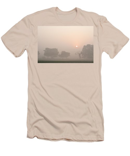 Men's T-Shirt (Slim Fit) featuring the photograph Mystic Landscape by Lana Enderle