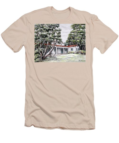 Nature And Architecture Men's T-Shirt (Slim Fit) by Danuta Bennett