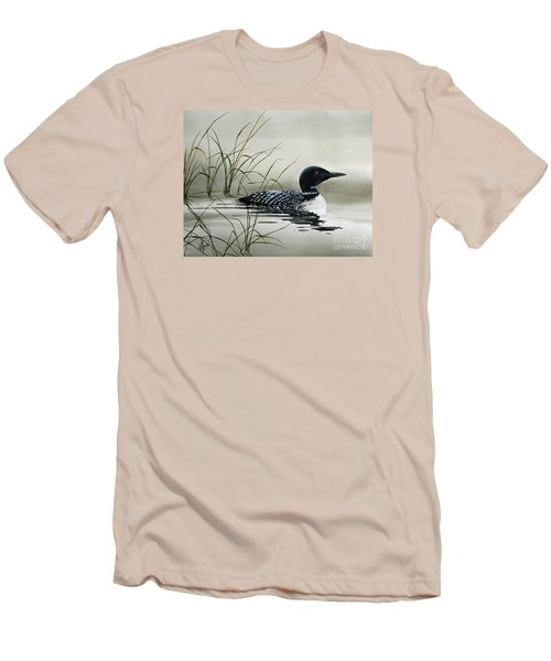 Nature's Serenity Men's T-Shirt (Slim Fit) by James Williamson