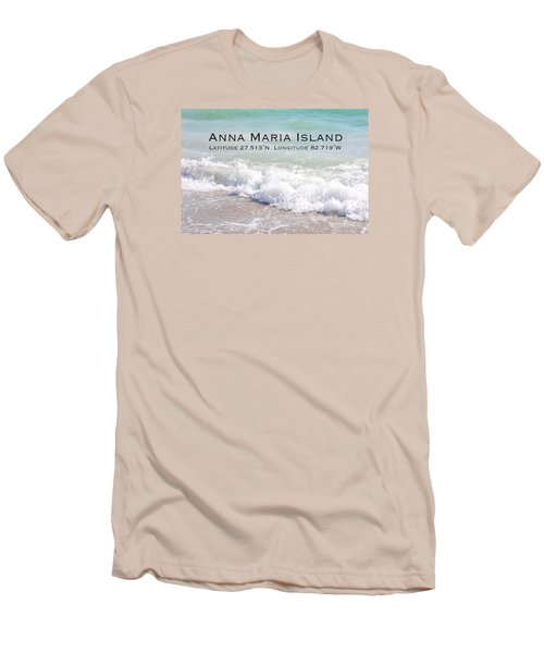 Men's T-Shirt (Slim Fit) featuring the photograph Nautical Escape To Anna Maria Island by Margie Amberge