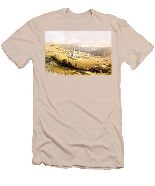 Nazareth Men's T-Shirt (Slim Fit) by Munir Alawi