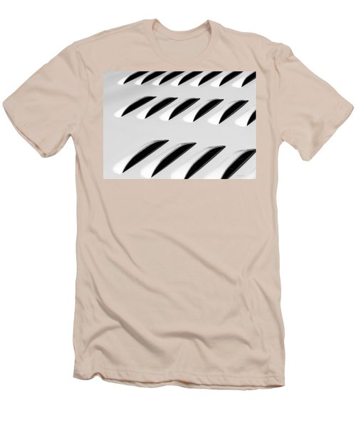 Men's T-Shirt (Slim Fit) featuring the photograph Need To Vent - Abstract by Steven Milner