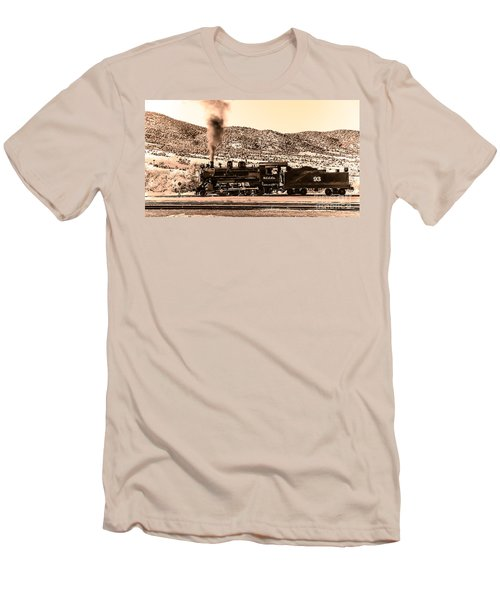 Nevada Northern Railway Men's T-Shirt (Athletic Fit)