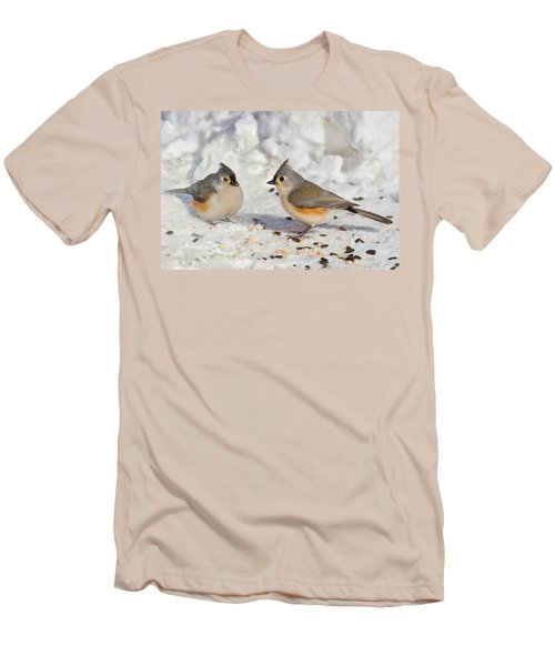 Nice Pair Of Titmice Men's T-Shirt (Athletic Fit)