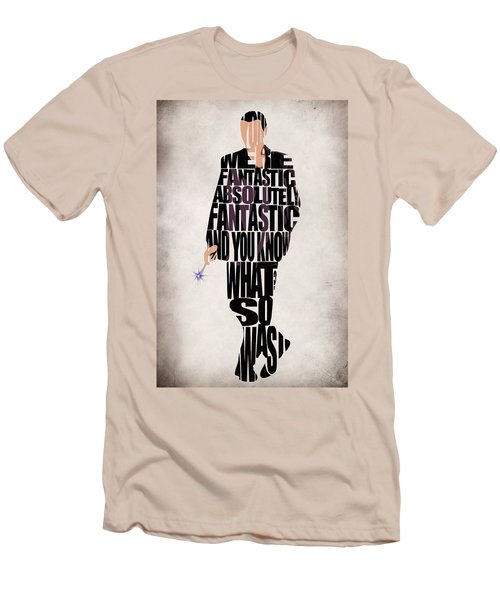 Ninth Doctor - Doctor Who Men's T-Shirt (Athletic Fit)