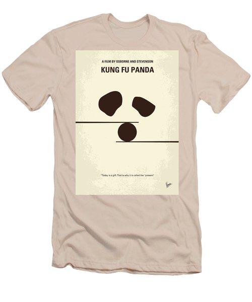 No227 My Kung Fu Panda Minimal Movie Poster Men's T-Shirt (Athletic Fit)