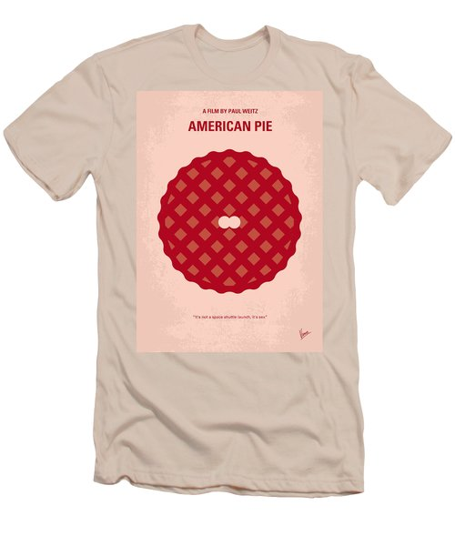 No262 My American Pie Minimal Movie Poster Men's T-Shirt (Athletic Fit)