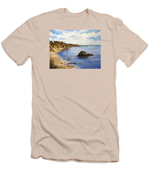 North Beach  Tenby Men's T-Shirt (Athletic Fit)