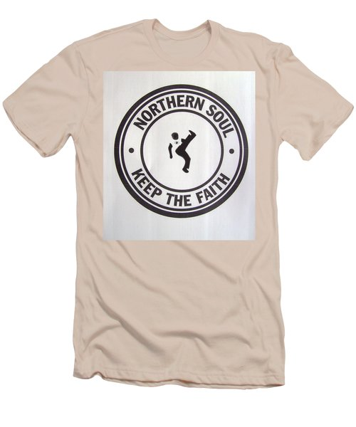 Northern Soul Dancer Men's T-Shirt (Athletic Fit)