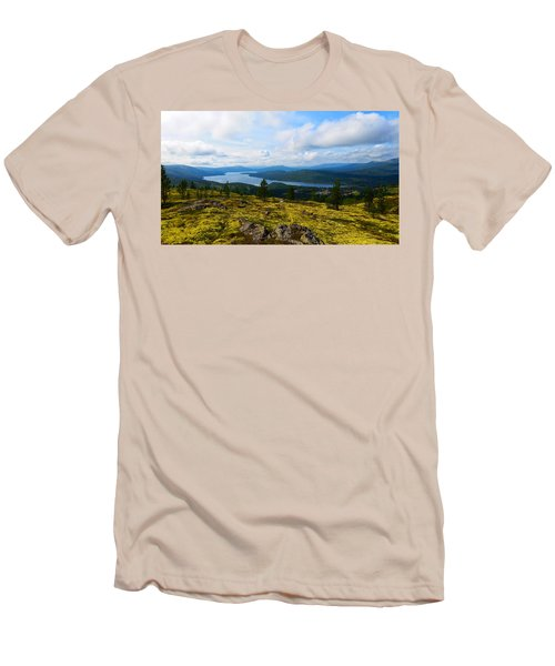 Norwegian Landscape 3 Men's T-Shirt (Athletic Fit)