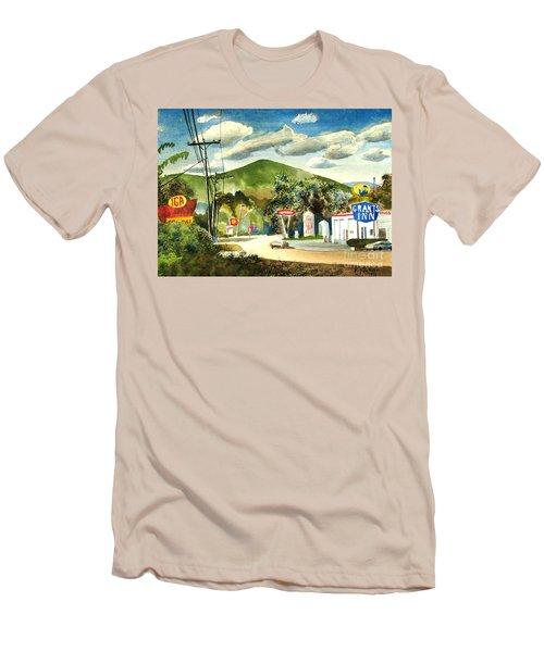 Nostalgia Arcadia Valley 1985  Men's T-Shirt (Slim Fit) by Kip DeVore