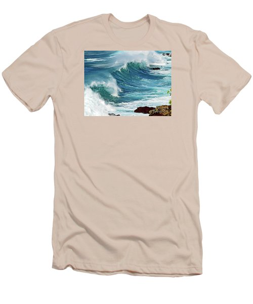 Ocean Majesty Men's T-Shirt (Slim Fit) by Patricia Griffin Brett