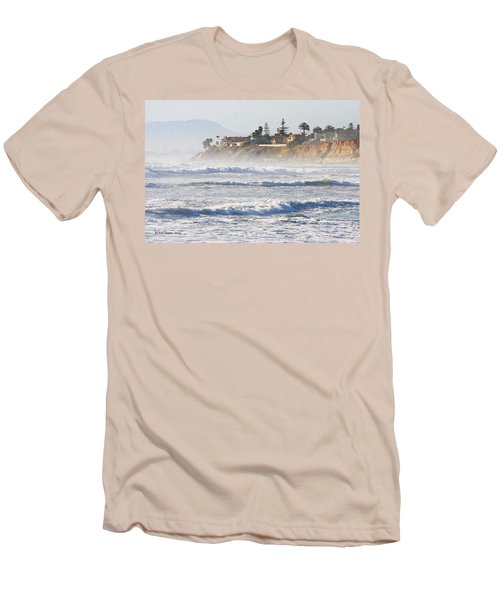 Men's T-Shirt (Slim Fit) featuring the photograph Oceanside California by Tom Janca