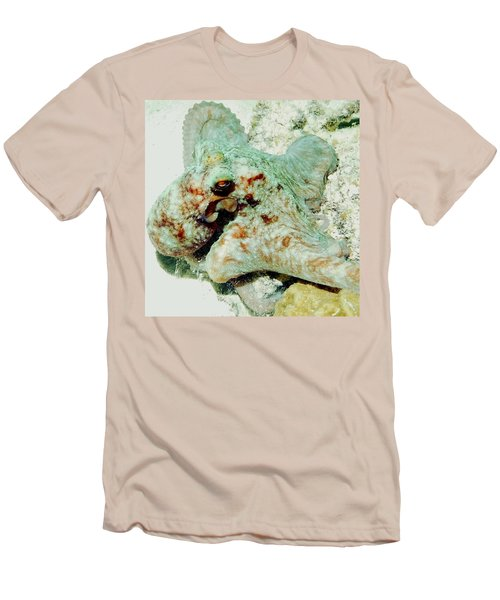 Octopus On The Reef Men's T-Shirt (Athletic Fit)