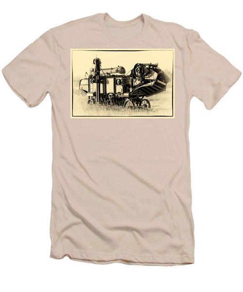 Old Case Thresher Men's T-Shirt (Slim Fit) by Bill Kesler