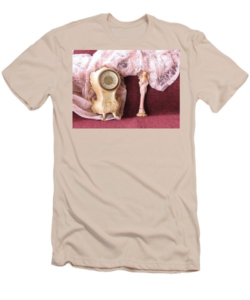 Old Lace And Time Men's T-Shirt (Slim Fit)