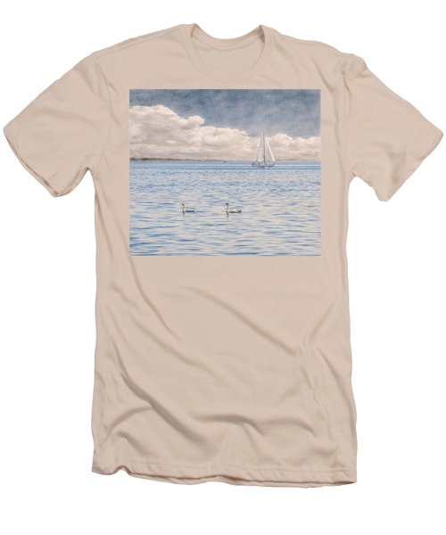 On A Summer's Breeze Men's T-Shirt (Athletic Fit)