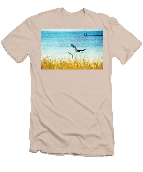 On Coastal Breezes Men's T-Shirt (Athletic Fit)