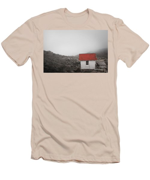 Men's T-Shirt (Slim Fit) featuring the photograph One Room In A Fog by Ellen Cotton