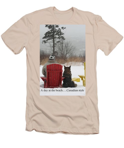 Only In Canada Men's T-Shirt (Athletic Fit)