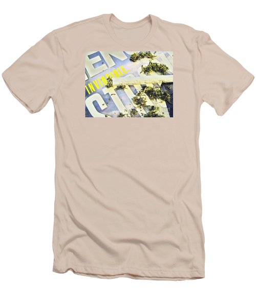 Men's T-Shirt (Slim Fit) featuring the photograph Or So I Thought by John King