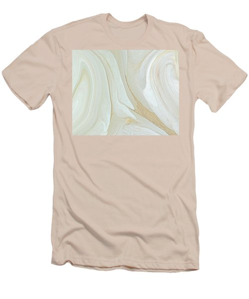 Orchids In Snow  C2014 Men's T-Shirt (Slim Fit) by Paul Ashby