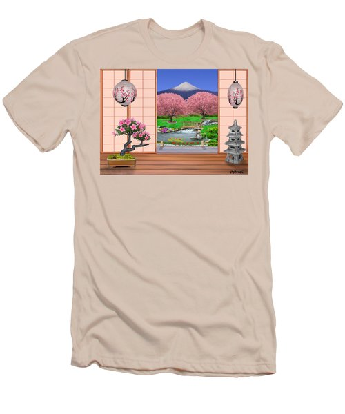 Oriental Splendor Men's T-Shirt (Slim Fit) by Glenn Holbrook
