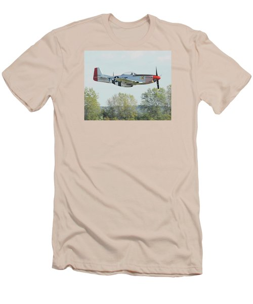 P-51d Mustang Shangrila Men's T-Shirt (Athletic Fit)