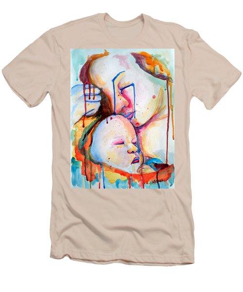 Painful Joy Men's T-Shirt (Slim Fit) by Janet Garcia