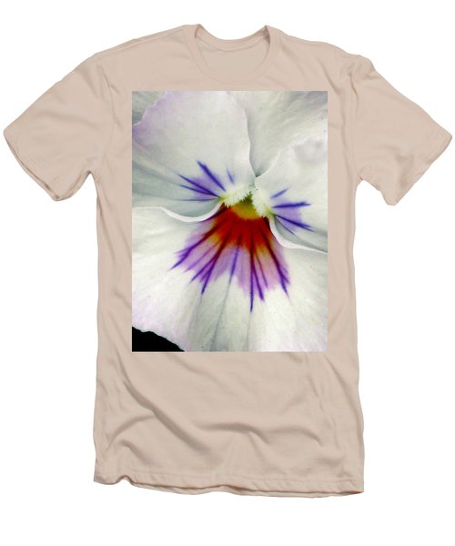 Pansy Flower 11 Men's T-Shirt (Athletic Fit)
