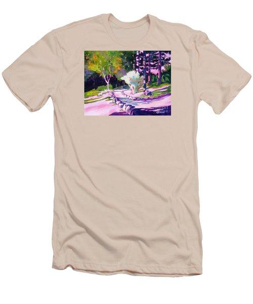 Park Trails 2           Men's T-Shirt (Slim Fit) by Kathy Braud