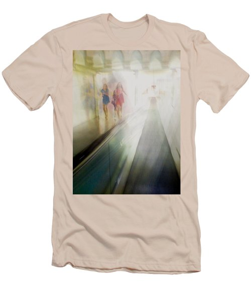 Men's T-Shirt (Slim Fit) featuring the photograph Party Girls by Alex Lapidus