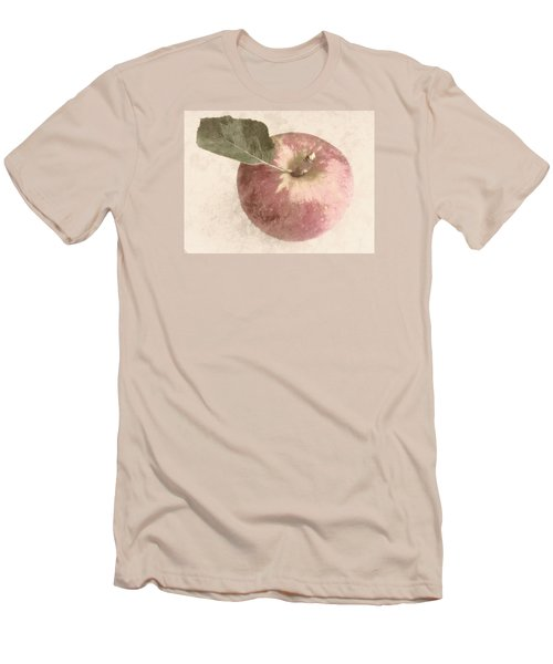Men's T-Shirt (Slim Fit) featuring the photograph Perfect Apple by Photographic Arts And Design Studio
