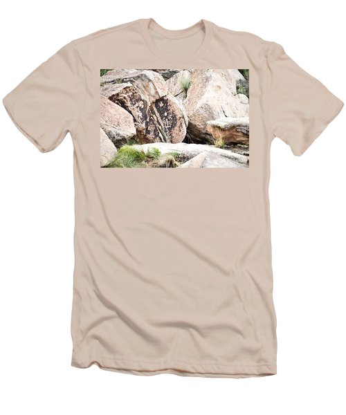 Petroglyph Men's T-Shirt (Athletic Fit)