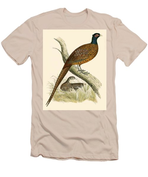 Pheasant Men's T-Shirt (Athletic Fit)