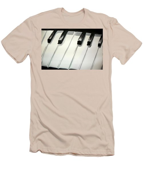 Piano Keys Men's T-Shirt (Athletic Fit)