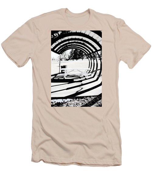 Picnic Table And Gazebo Men's T-Shirt (Athletic Fit)