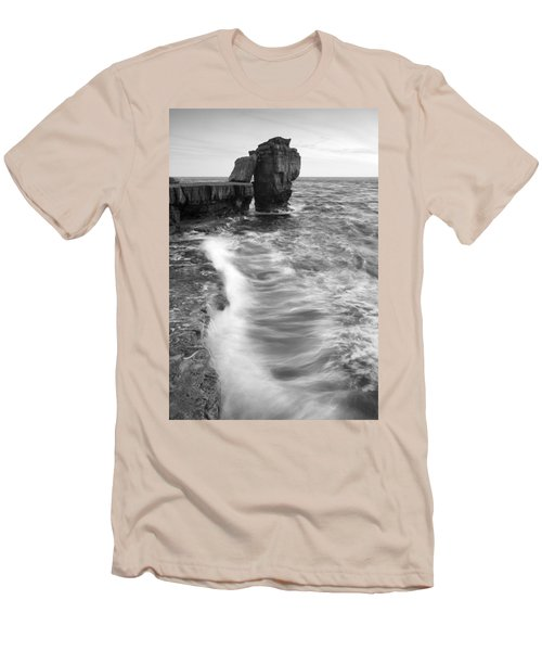 Portland Bill Seascape Men's T-Shirt (Athletic Fit)