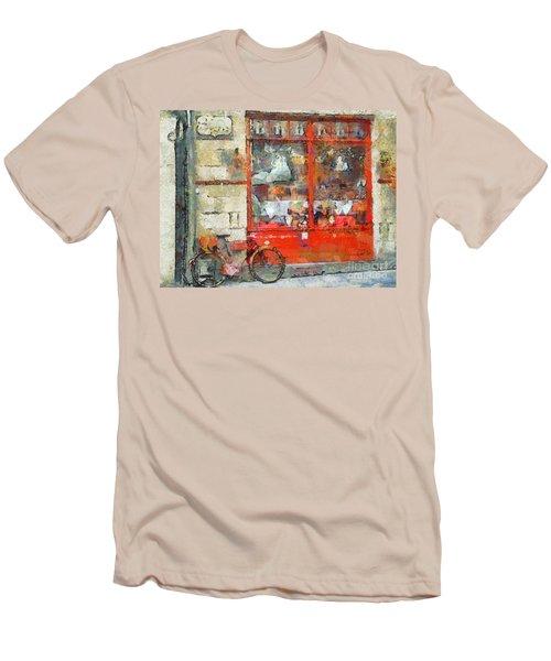 Postcard Perfect Men's T-Shirt (Athletic Fit)