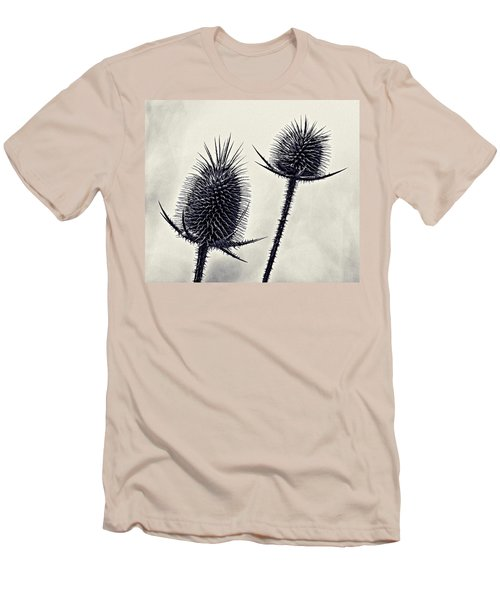 Men's T-Shirt (Slim Fit) featuring the photograph Prickly by John Hansen