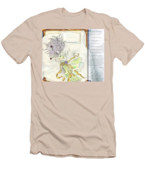 Men's T-Shirt (Slim Fit) featuring the painting Princess Altiana Aka Rokeisha by Shawn Dall