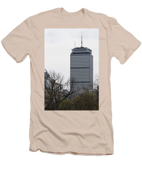 Prudential Tower Men's T-Shirt (Athletic Fit)